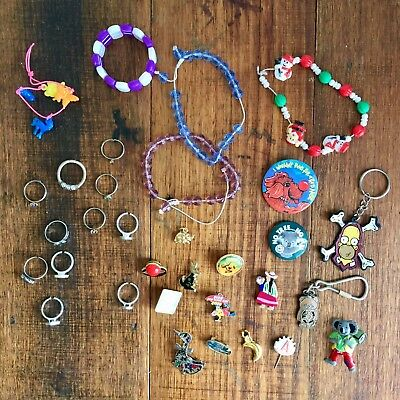 Retro 90's & Early 2000's Jewelery And Badges