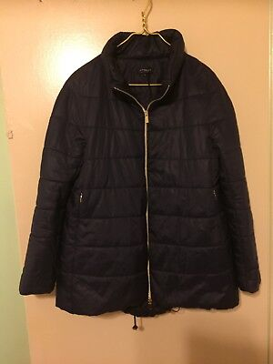 Maternity lite winter Jacket Italian brand Attesa Lightly quilted polyester