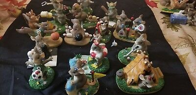"""Charming Tails Lot Set of 15""""go team! style"""""""