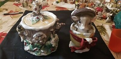 charming tails cookie and candy jar