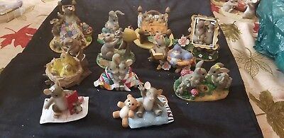 """Charming Tails Lot Set of 11 """"family style"""""""