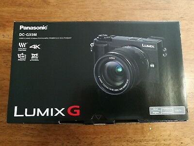 NEW Panasonic Lumix DC-GX9 Mirrorless Digital Camera w/12-60mm SILVER DC-GX9MS