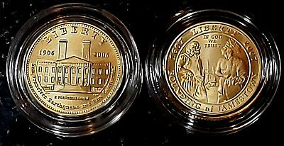 2006 & 2007  $5 Gold Commemorative Gem Uncirculated.     Set of #2 Coins.