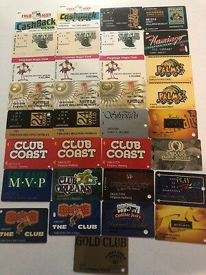 Casino slot cards All 1 Person Vegas  VIP Club Cards