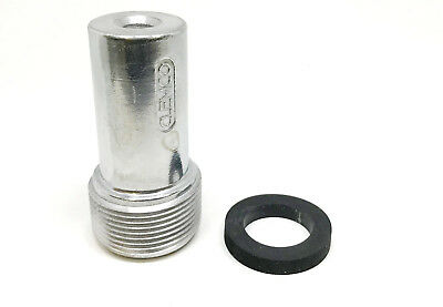 """REPLACES CLEMCO 01353 TUNGSTEN CARBIDE 1//4/"""" BORE 3//4/"""" NPSM THREAD 1-5//8/"""" LENGTH"""