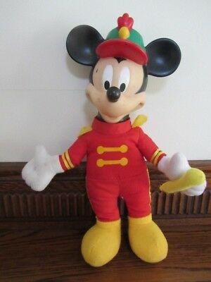 Vintage Micky Disney  Micky Mouse  29 cm toy plastic head  soft body