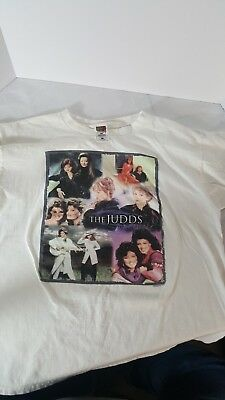 The Judds 2000 Tour Adult XL T Shirt White Wynonna Naomi XL Tee Country Music