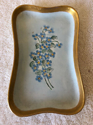 Antique Hand Painted M&Z Austria Victorian Small Tray