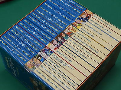 THE CLASSIC ENID BLYTON COLLECTION  - 15 BOOKS + Fold-Out Box   NEW