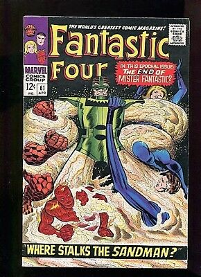 Fantastic Four  #61  (1967)  9.0  White Pages  Higher Grade