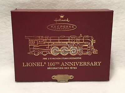 Vintage NOS 24pc HALLMARK Keepsake Ornament LIONEL TRAIN Collector's Series Lot