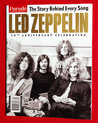 Parade Collector's Edition Book - LED ZEPPELIN 50th Anniversary Celebration 2018