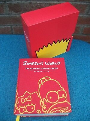 Simpsons World The Ultimate Episode Guide Book Season1-20 Harper 1st Edition2012