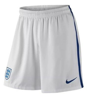 Nike Men's England Football Shorts Dri Fit Size Small 724605-100