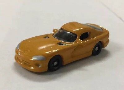 N Scale Racing Champions 1/144 Hot Rod Magazine Dodge Viper - Gold