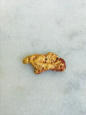 Organic Uncleaned Gold Nugget from Meekatharra W.A 97.39 % Purity