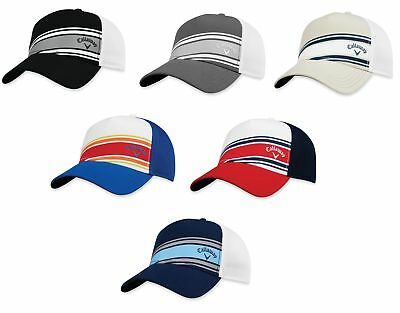 a197cec9f58 Callaway Stripe Mesh Hat Mens Adjustbale Golf Cap - New 2018- Choose Color!