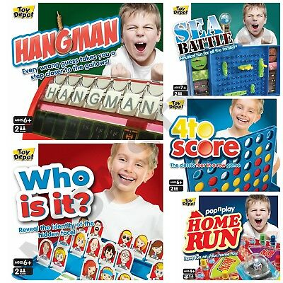 Full Size Kids Children Family Range Of 5 Board Games Frustration Guess Present