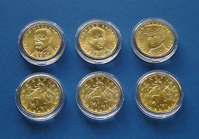 Set of 3 coins to the 100th anniversary of the Czechoslovak Republic