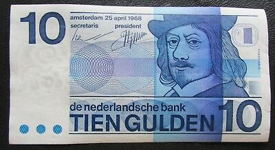 10 Gulden 1968 Netherlands