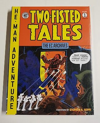 Two-Fisted Tales - Volume 1 The Ec Archives Hardback Sealed Brand New Dark Horse