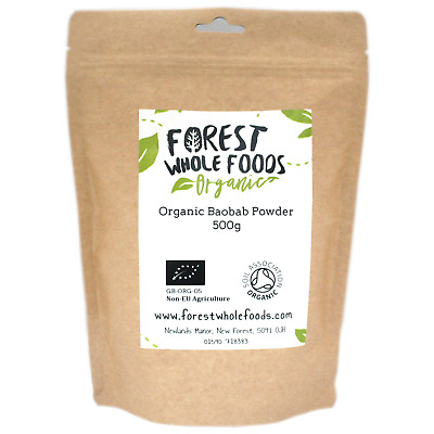 Orgánico Baobab Polvo - Forest Whole Foods