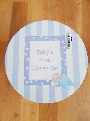 NEW Baby's First Dinner Set - Blue