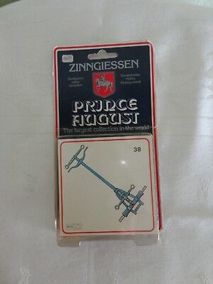 ZINNGIESSEN PRINCE AUGUST OVP 2st. 2packung