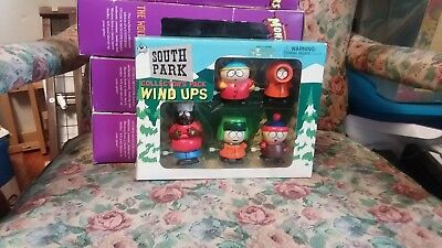 South park collectibles pack wind up 1998 mint never opened