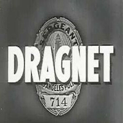 Dragnet Old Time Radio Shows - 344 MP3s on DVD
