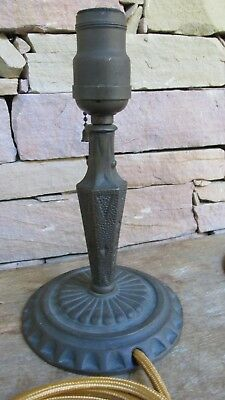 Antique Solid Bronze(Pair) Arts&Crafts Mission Lamp Lower Price