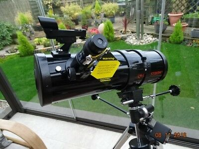 Celestron First Scope 114 Compact telescope, Newtonian type with tracking motor