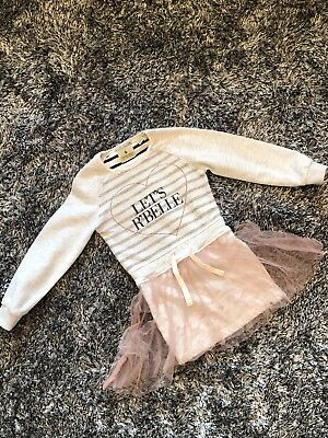 Needs Repair - Scotch R'belle Dress With Tutu Skirt - Age 4 Years