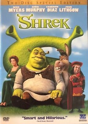 Shrek Two-Disc Special Edition (Wide and Full Screen) FREE SHIPPING