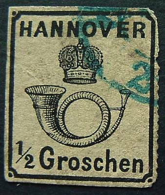 Germany, Hanover, Scott 26, Used