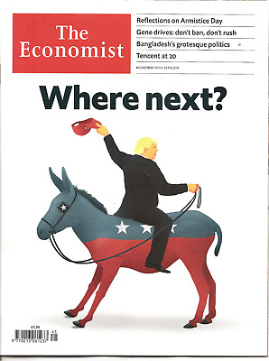 The Economist 10th - 16th November 2018 Economics & Current Affairs Weekly