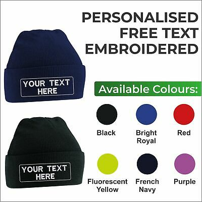 97a6229b1afecf Personalised Kids Beanies Custom School Wear Embroidered Junior Beanie Hats