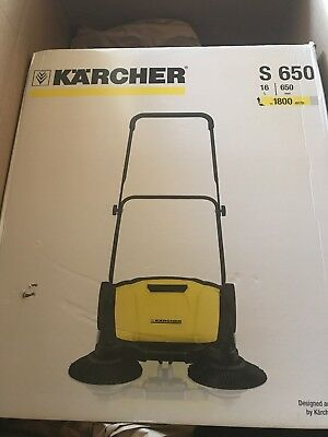 Kärcher S650 Sweeper Hand sweeper with side brush height adjustable 11L