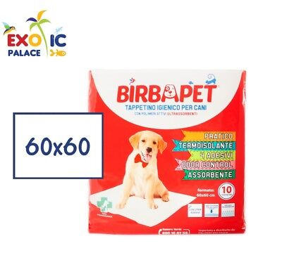 MATS HYGIENIC BIRBAPET 60x60cm TRAVERSE ABSORBENT DIAPERS FOR CAT DOG