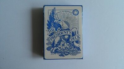 The President's Deck Playing Cards Circa 1972 By Alfabet. Inc. Made In Usa