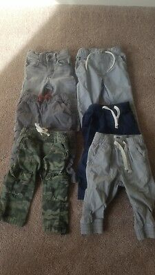 Boy's Pants Lot 12-18 Months Old Navy And Baby Gap!