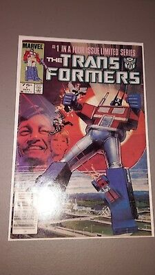 Transformers #1 - Marvel Comics - Really Nice Book