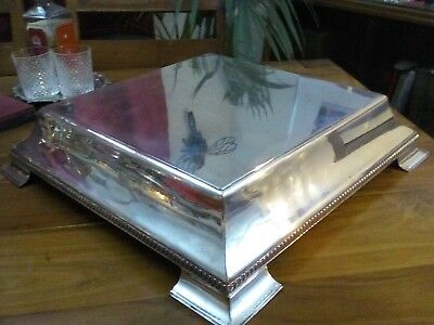 A Vintage Silver Plated Cake Stand, Large, Wedding