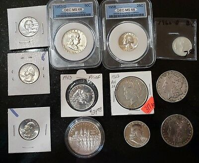 Lot of  #12 Silver United States Coins