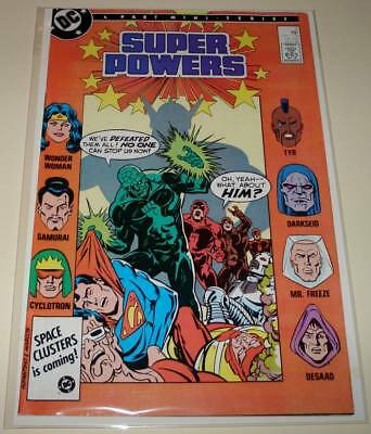 DC SUPER POWERS # 3 DC Comic (1986)  FN/VFN  With 12-Page MASK Insert
