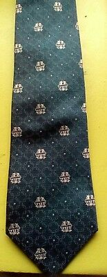 olympique marseille football club, very rare vintage tie