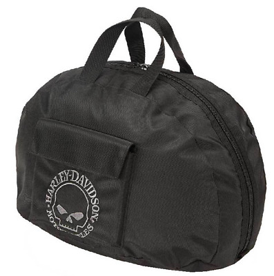 Harley Davidson Willie G Skull Carry Bag Jet Helm Tasche 99427-BLACK