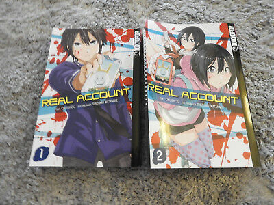 Real Account Band 1-2/ Tokyopop