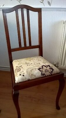 Mahogany Bedroom Chair