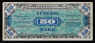 Germany Allied Military Currency 50 mark soviet issue 1944 P-196